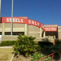 Photo taken at Earl E. Wilson Baseball Stadium by Nik S. on 10/15/2011