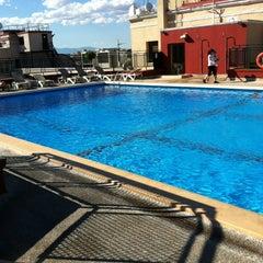 Photo taken at Hotel Emperador Madrid by Teodoro Q. on 6/21/2012