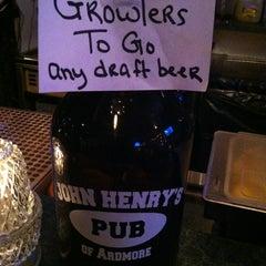 Photo taken at John Henry's Pub by Mark R. on 2/1/2013
