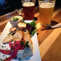 Photo taken at HELM Microbrasserie by Amélie on 9/12/2014