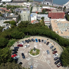Photo taken at Coit Tower by Hamchik A. on 4/22/2013
