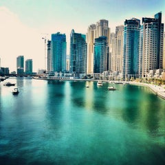 Photo taken at Dubai Marina Walk ممشى مرسى دبي by Igor D. on 10/22/2012
