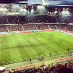 Photo taken at HDI Arena by Markus on 10/7/2012