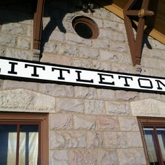 Photo taken at RTD Downtown Littleton Station by Stephanie C. on 11/14/2012