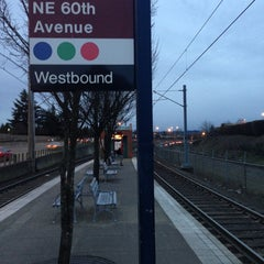 Photo taken at TriMet NE 60th Ave MAX Station by Seth C. on 3/5/2013