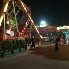 Photo taken at Florya Lunapark by Ömer Faruk T. on 7/28/2013