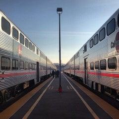Photo taken at San Francisco Caltrain Station by Patrick T. on 3/29/2013