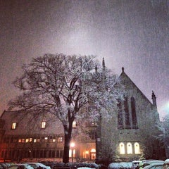 Photo taken at Garrett-Evangelical Theological Seminary by Annie on 2/8/2013