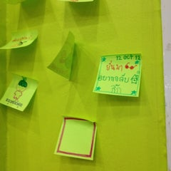 Photo taken at Sit@Dome (ศิษย์โดม) by Yin on 10/12/2012