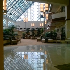 Photo taken at DoubleTree by Hilton Hotel Orlando Airport by Carol K. on 7/26/2013