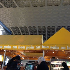 Photo taken at Au Bon Pain by Marco Z. on 3/12/2013