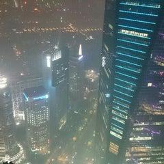 Photo taken at 金茂大厦 Jin Mao Tower by Sada on 8/28/2015