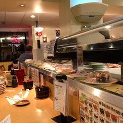 Photo taken at Marinepolis Sushi Land by Allen C. on 2/6/2013