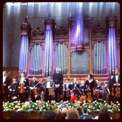 Photo taken at Московская государственная консерватория им. П. И. Чайковского by Юлия М. on 3/30/2013