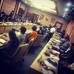 Photo taken at สำนักงานปลัดสำนักนายกรัฐมนตรี (The Office of the Permanent Secretary, The Prime Minister's Office) by Chalermchatri Y. on 10/9/2014