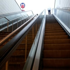 Photo taken at Kozyatağı Metro İstasyonu by Pelin K. on 12/20/2012