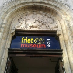 Photo taken at Frietmuseum by Kelly D. on 12/17/2012