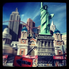 Photo taken at New York-New York Hotel & Casino by William G. on 11/7/2013