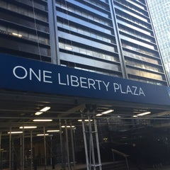Photo taken at One Liberty Plaza by Charles W. on 1/20/2015