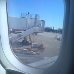 Photo taken at Virgin America by Marie on 9/4/2014