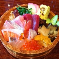 Photo taken at Sushi Tomi by Chongho L. on 3/19/2013