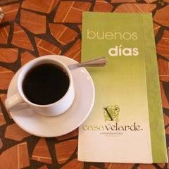 Photo taken at Casa Velarde, Comida y vino by Carlos Manuel S. on 12/20/2013