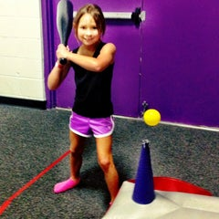 Photo taken at Bounce U by Melissa N. on 9/15/2012