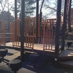 Photo taken at Vanderbilt Playground by Alexander N. on 1/6/2013