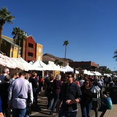 Photo taken at Tempe Festival of the Arts by Vicki on 12/1/2012