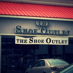 Photo taken at The Shoe Outlet by Lily C. on 3/24/2013