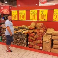 Photo taken at Rimi Hypermarket by Kylak on 7/13/2014