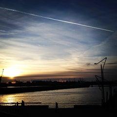 Photo taken at View Point Hamburg by Nabeel on 12/30/2013