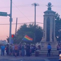 """Photo taken at Dallas """"Gayborhood"""" by Dennis J. on 10/12/2015"""