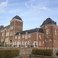 Photo taken at Domaine Provincial de Wégimont Speeltuin by Pascale on 4/18/2013