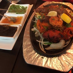 Photo taken at Saffron Indian Cuisine by Peter on 8/19/2015