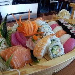 Photo taken at Sushi I by Sonya M. on 5/6/2013