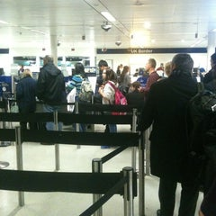 Photo taken at Security/Passport Control - T1 by Eddy on 11/16/2012