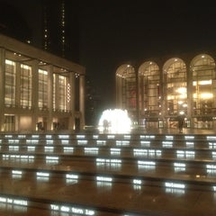 Photo taken at Lincoln Center Plaza (Josie Robertson Plaza) by sonia m. on 6/12/2013