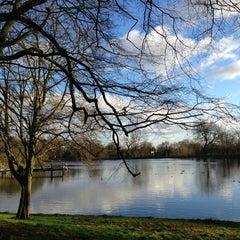 Photo taken at Hampstead Heath by Samantha T. on 1/1/2013