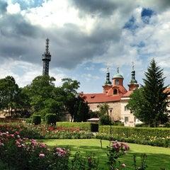 Photo taken at Petřínské zahrady | Petřín Gardens by Daniel on 7/13/2013
