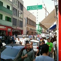 Photo taken at Rua Santa Ifigênia by Mike David C. on 9/15/2012