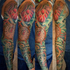 Photo taken at Remington Tattoo by Terry on 9/13/2013