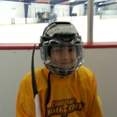 Photo taken at Raleigh Center Ice by Tommy Z. on 9/7/2013