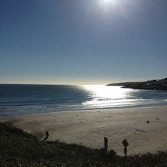 Photo taken at Inchydoney Beach by John on 10/27/2012