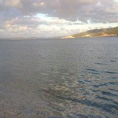 Photo taken at Torba Plajı by Cevriye ;) on 2/3/2013