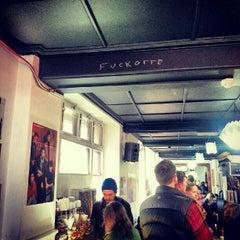 Photo taken at Brick Lane Coffee by Euy Suk K. on 9/30/2012