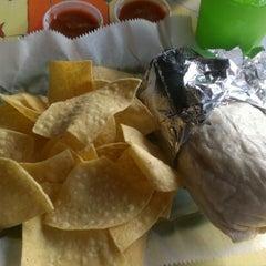 Photo taken at Baja Burrito by Cody M. on 9/15/2012