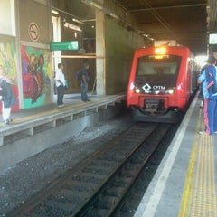 Photo taken at Estação Osasco (CPTM) by Kalvoxx on 10/15/2012