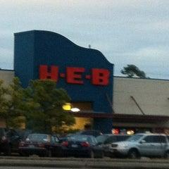 Photo taken at H-E-B by Debbie on 1/3/2013