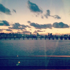 Photo taken at 잠실대교 (Jamsil Bridge) by daw S. on 11/27/2013